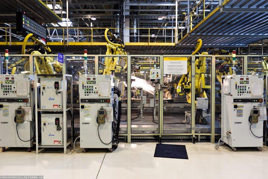 Экскурсия на завод KIA