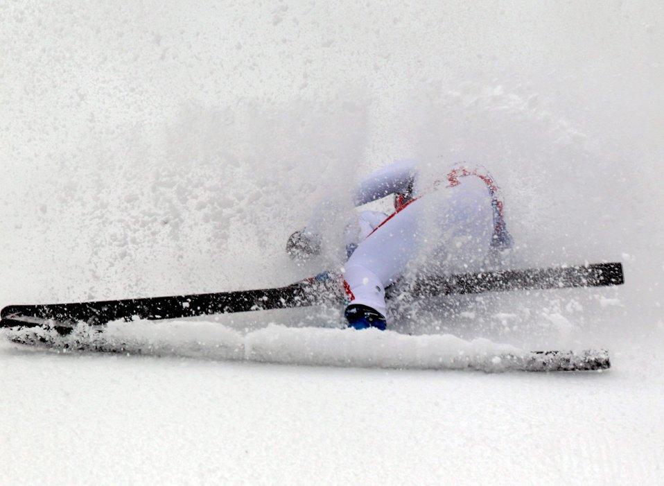На известном горнолыжном курорте в Гармиш-Партенкирхен проходит чемпионат мира