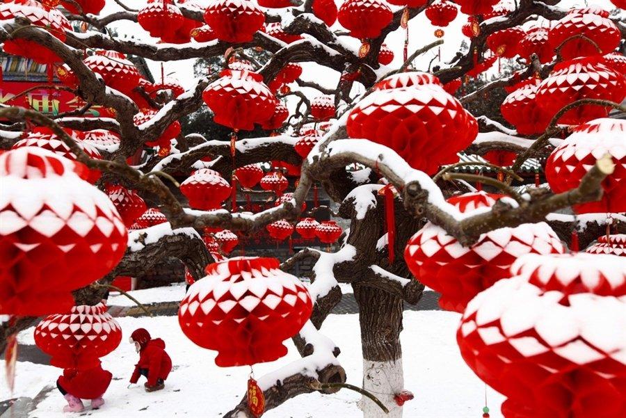 10 февраля 2011 в Пекине прошел сильный снегопад