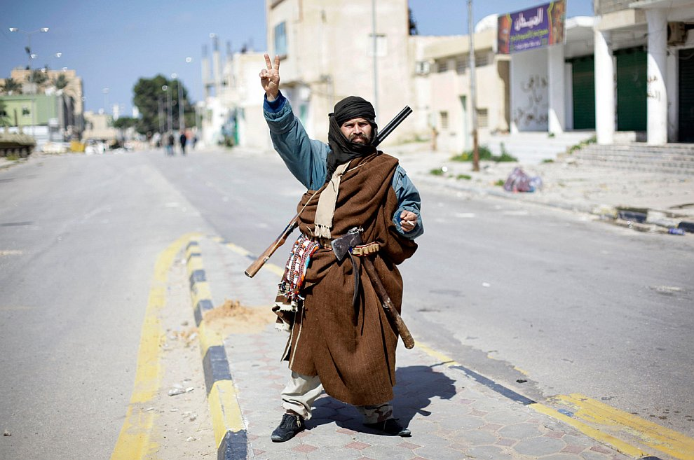 Бои в Ливии продолжаются