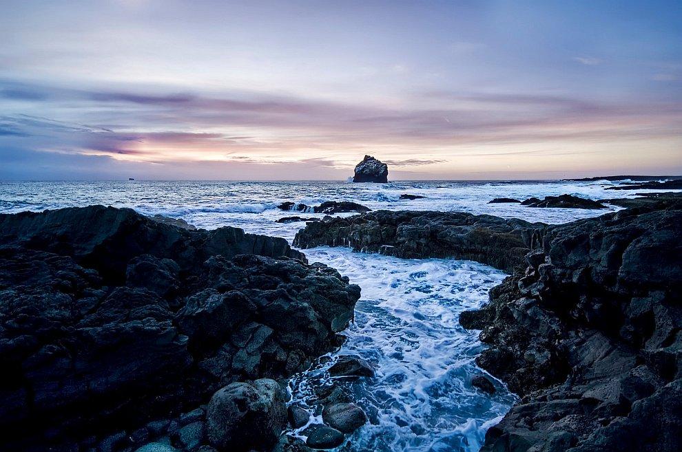 Исландия на закате