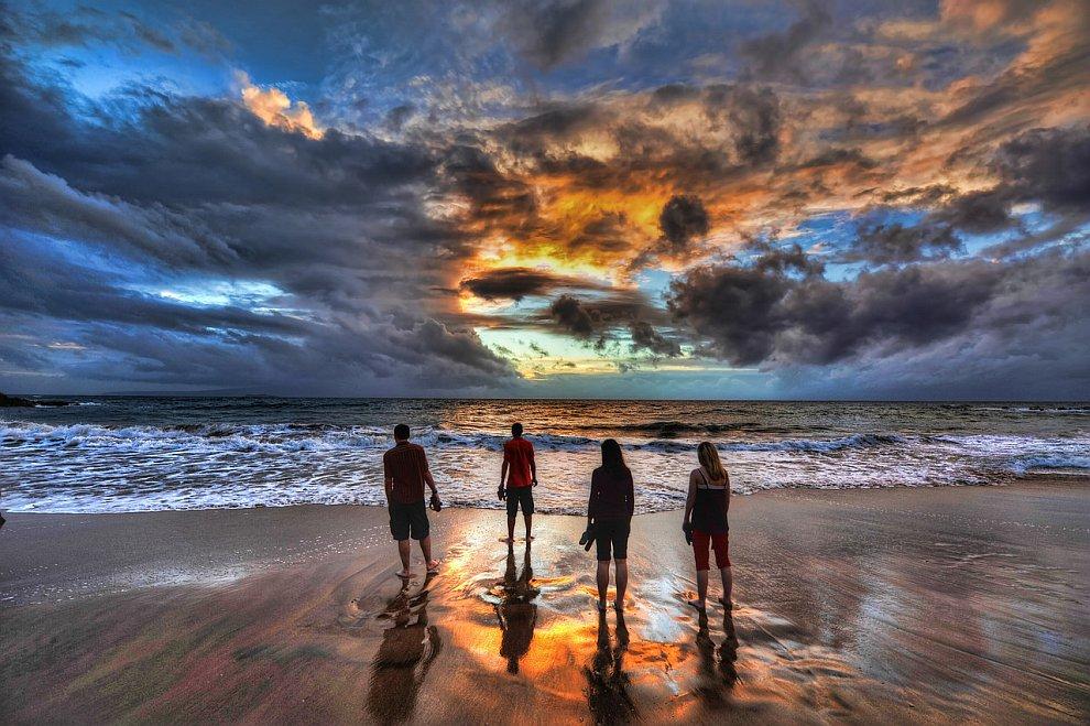 Закат на Мауи