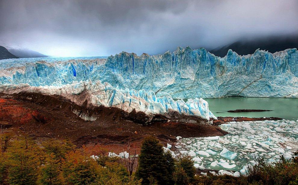 Голубой ледник