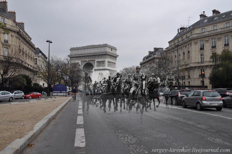 Париж. Назад в прошлое