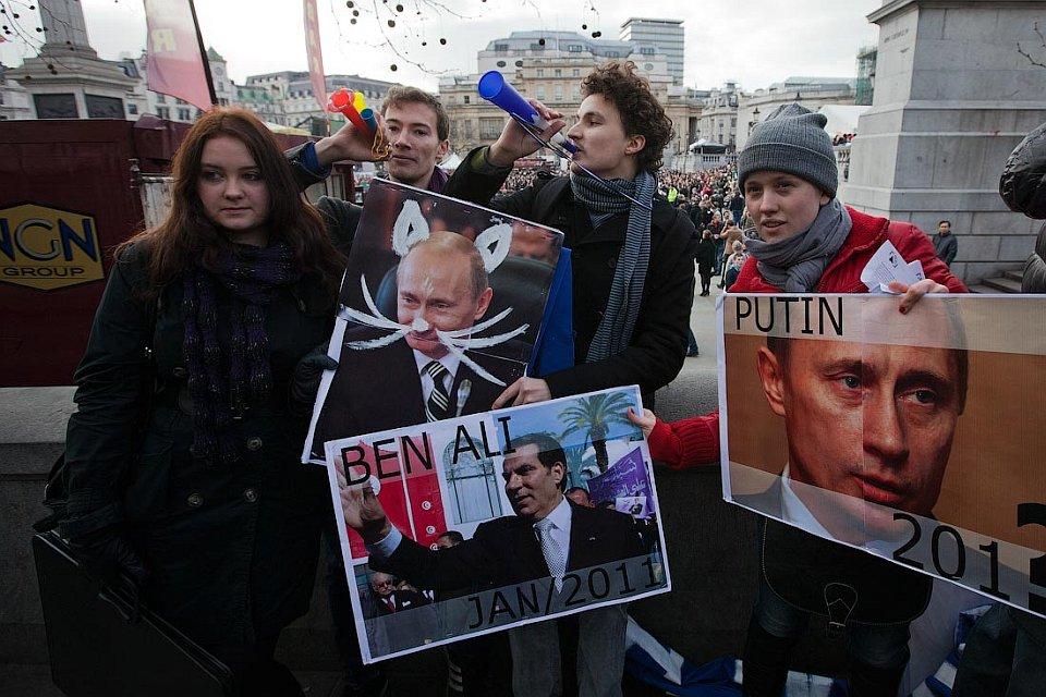 Празднование русской Масленицы в Лондоне