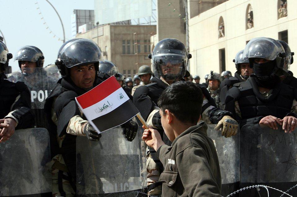 На площади Тахрир в Багдаде прошла демонстрация протеста против коррупции