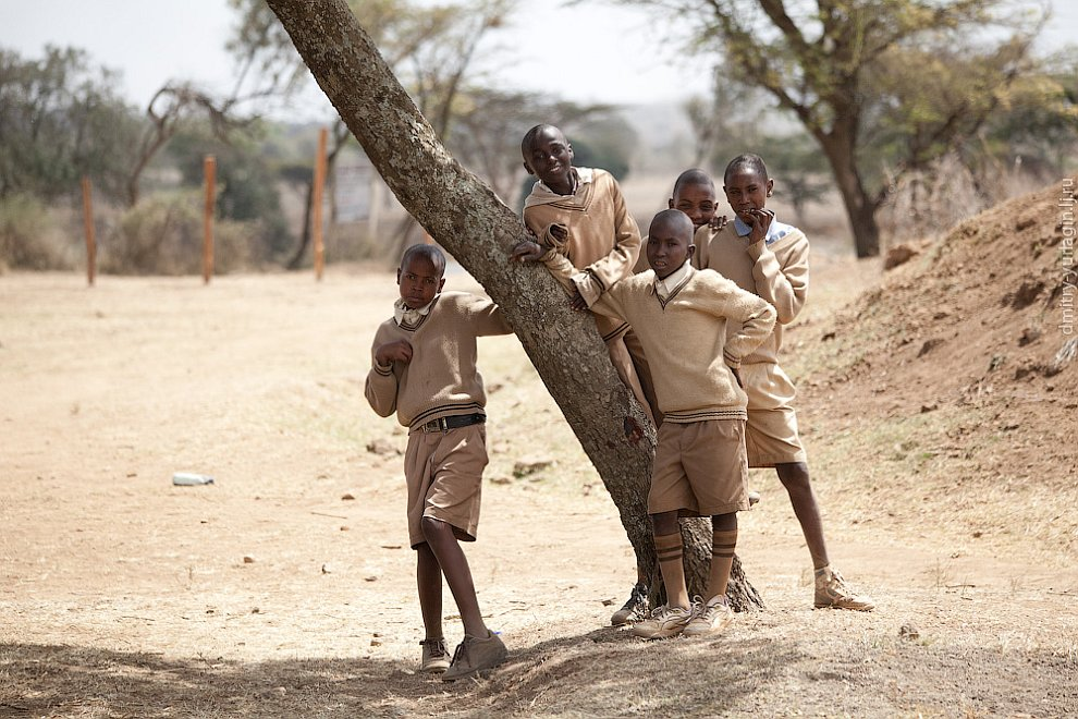 Як вчаться в школах Кенії