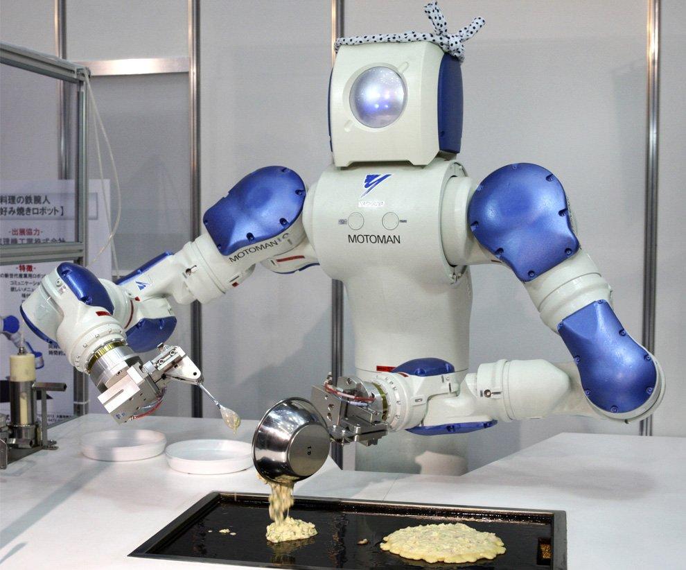 Японский робот-кулинар