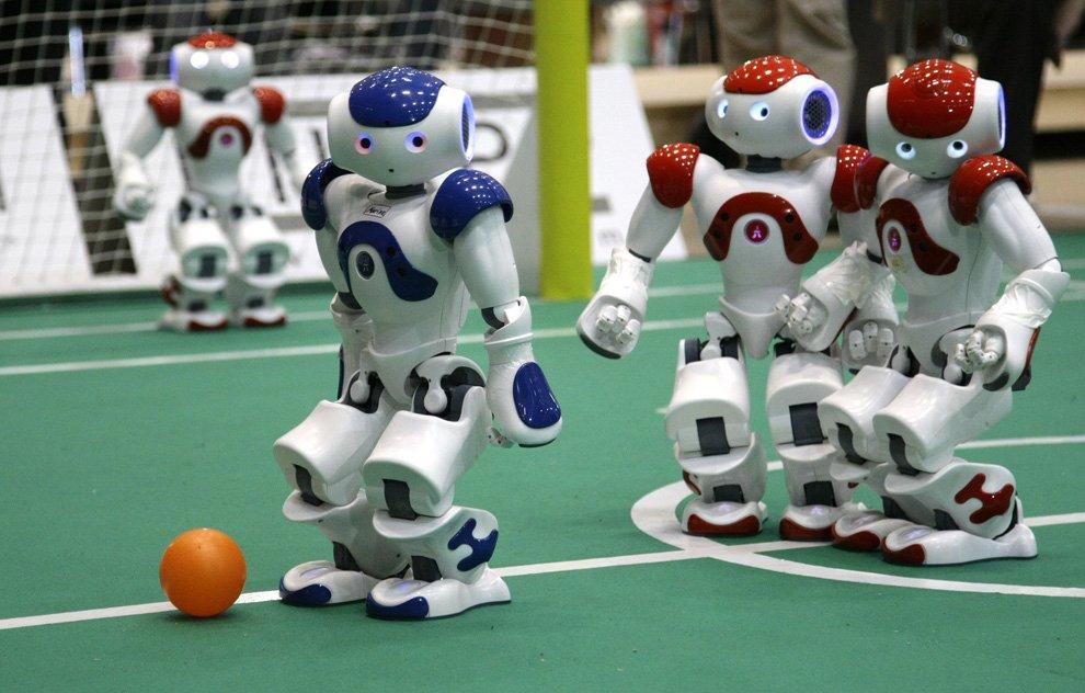 Модели роботов-футболистов