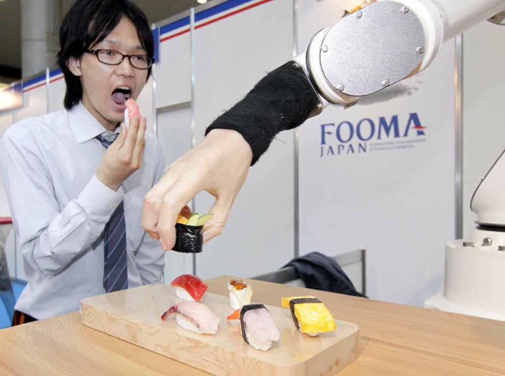 Рука робота японского производства