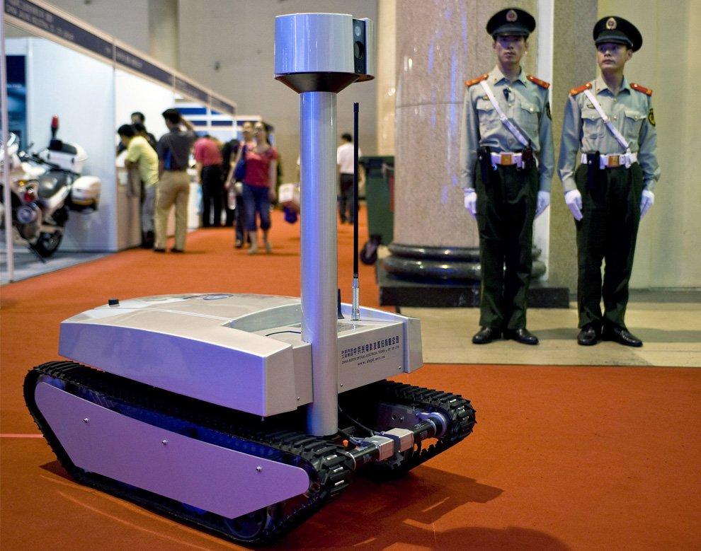 Китайский робот-разведчик
