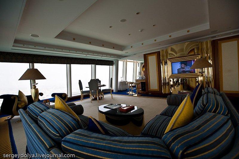 Бурдж Аль Араб — самый роскошный отель мира