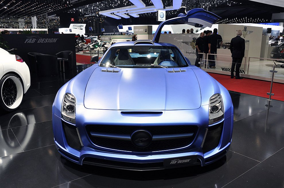 Fab Design SLS AMG