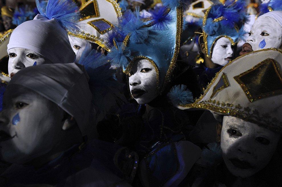 Карнавальная ночь в Сан-Паулу