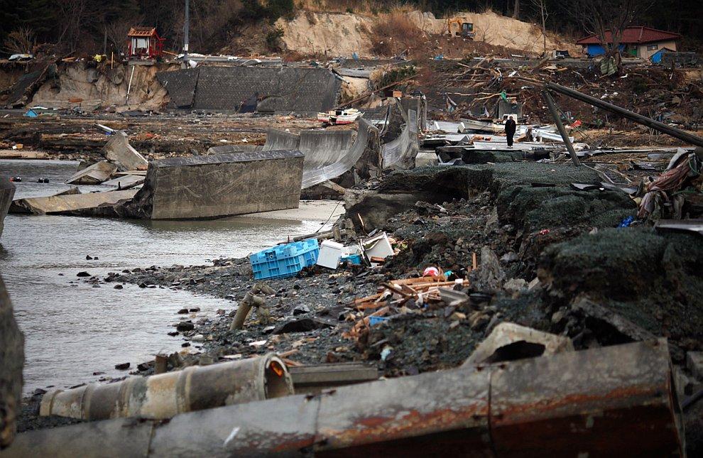 Землетрясение в Японии: 2 недели спустя