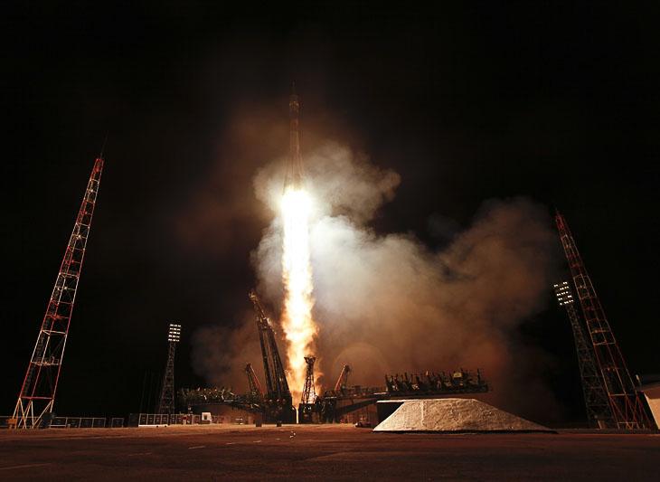 Поехали! Старт космического корабля «Союз ТМА-21» «Гагарин» с космодрома Байконур