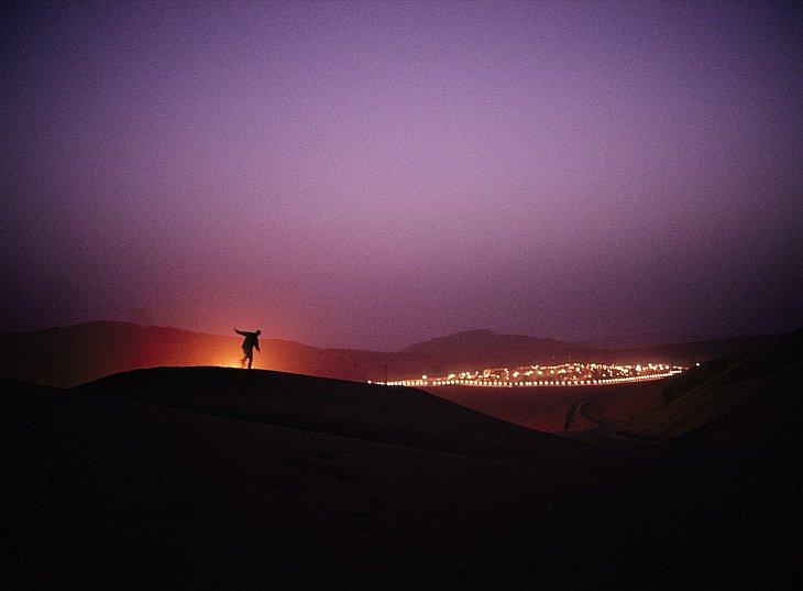 Дюны в Саудовской Аравии
