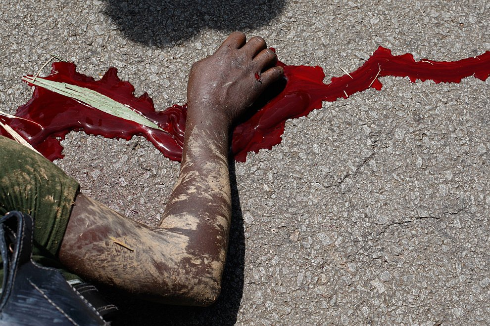 Военные действия в Кот-д'Ивуаре: в осаде