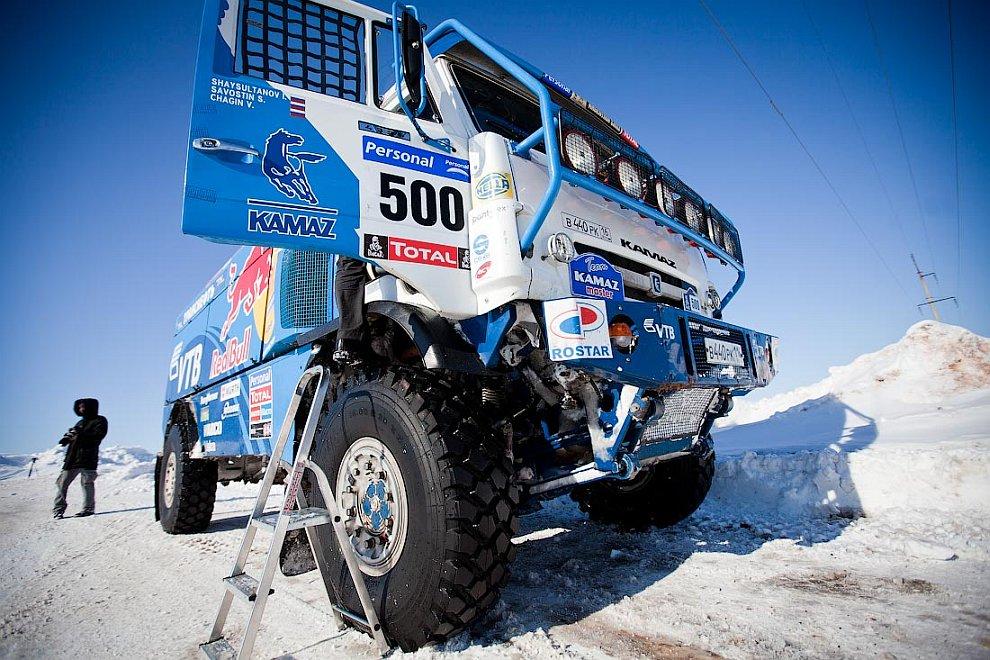 КАМАЗ-мастер — мировой лидер гонок на грузовиках