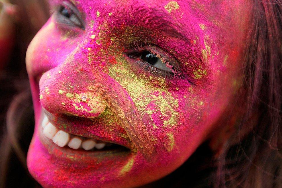 Холи-2011 — фестиваль весны и ярких красок