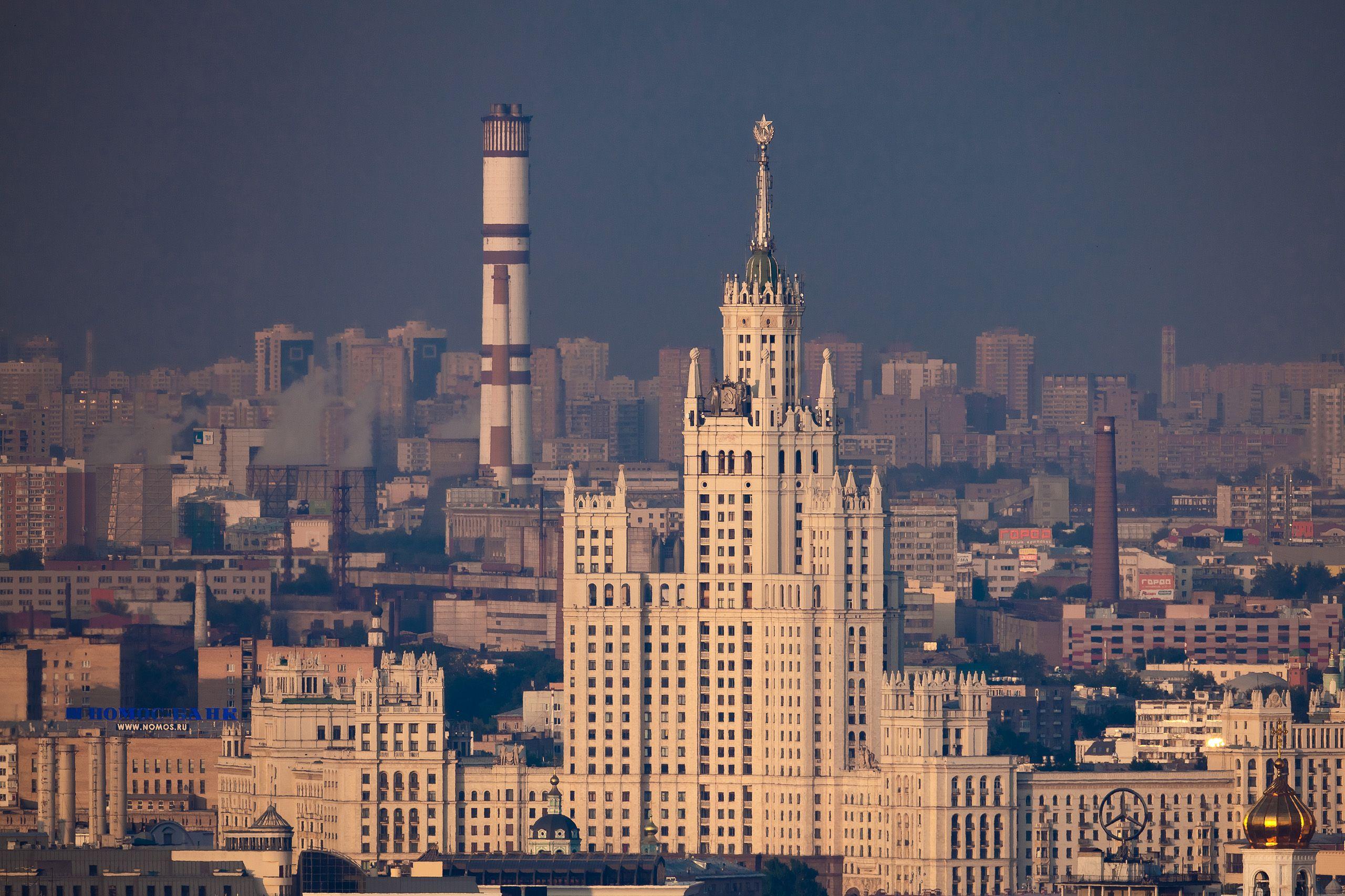 Москва обои