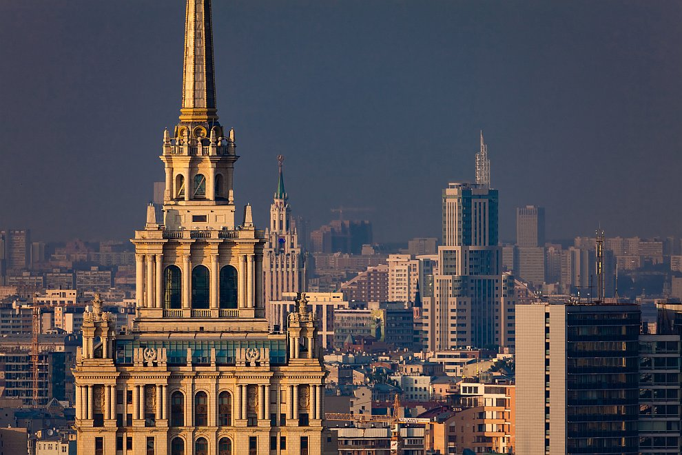 Москва. Обои