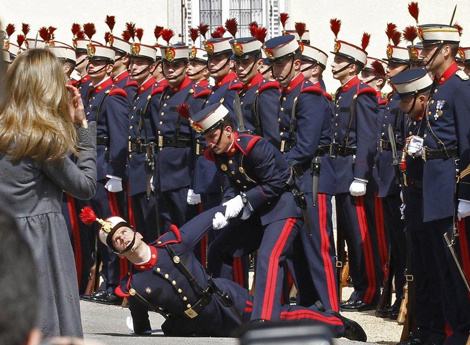 Принц Чарльз и его супруга Камилла Паркер Боулз прибыли в Мадрид