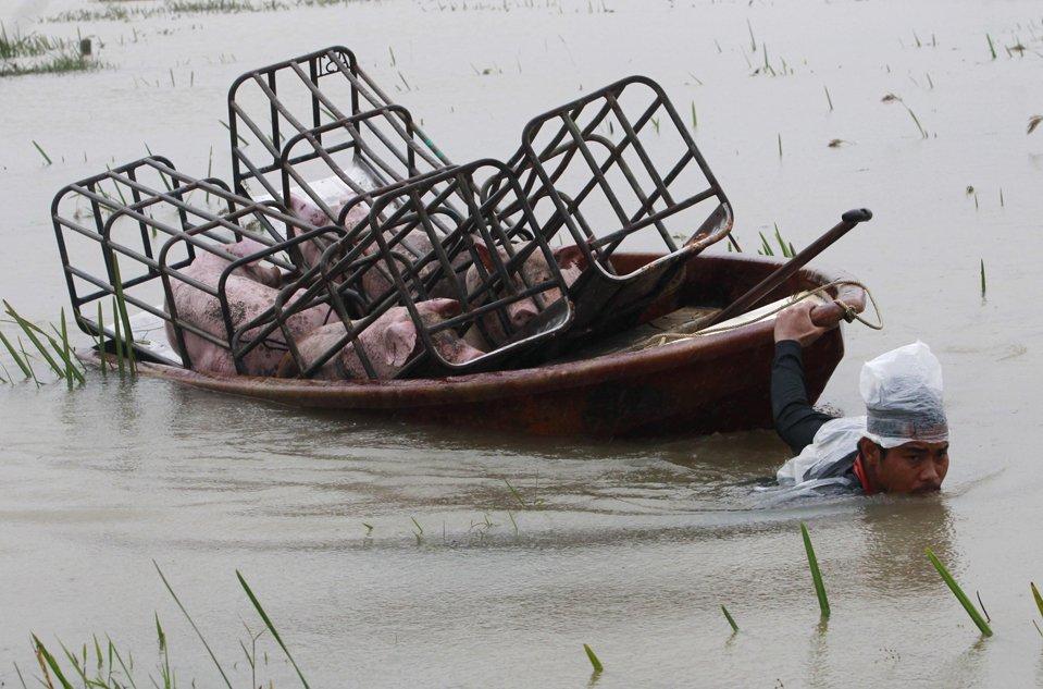 Наводнения в восьми провинциях южного Таиланда