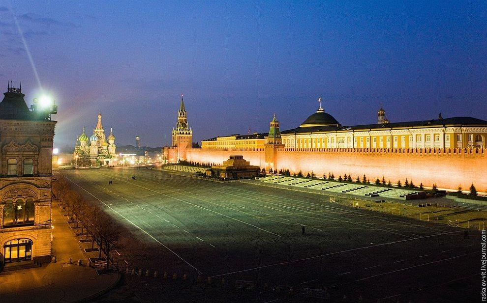 Ночная Москва: уникальные виды на Кремль и Красную площадь