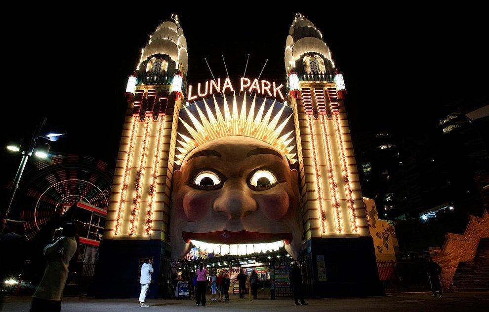 Луна-парк в Сиднее