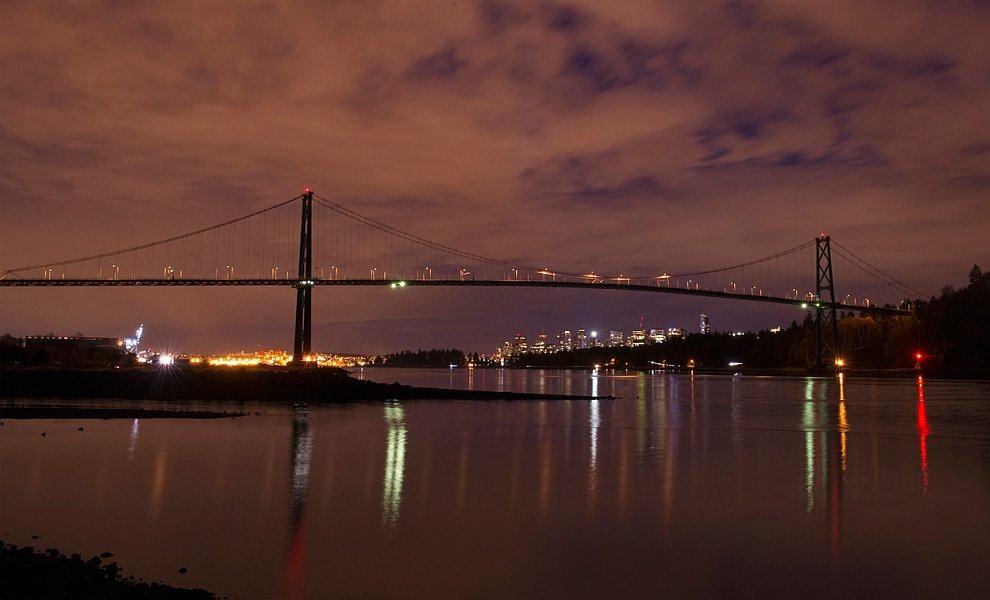 Подвесной мост Львиные ворота