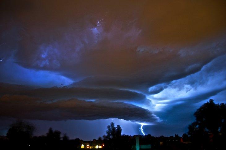 Прекрасный мир: фотографии закатов и облаков
