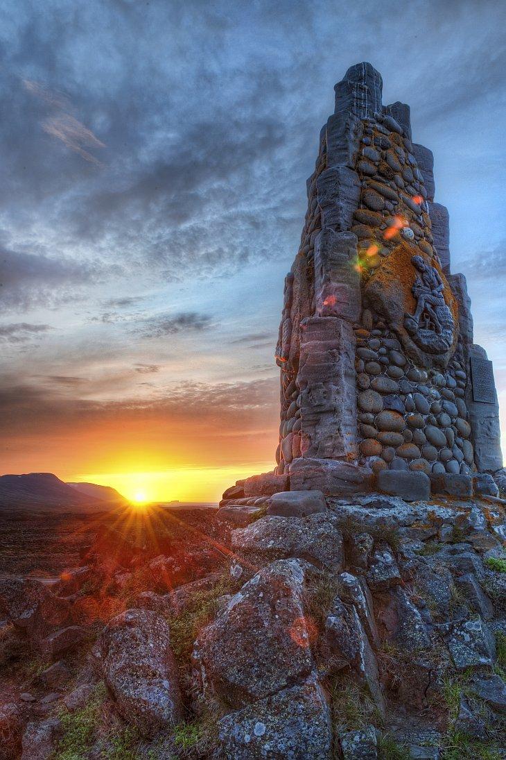 Исландия. Неизвестное сооружение