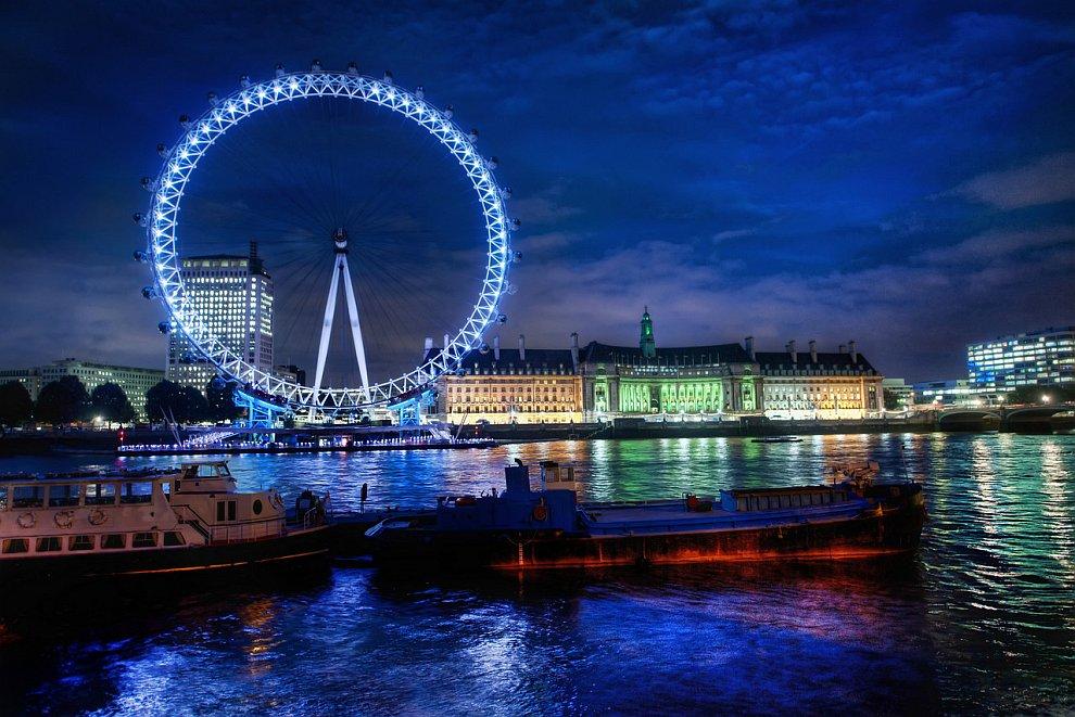 Колесо обозрения «Лондонский глаз»