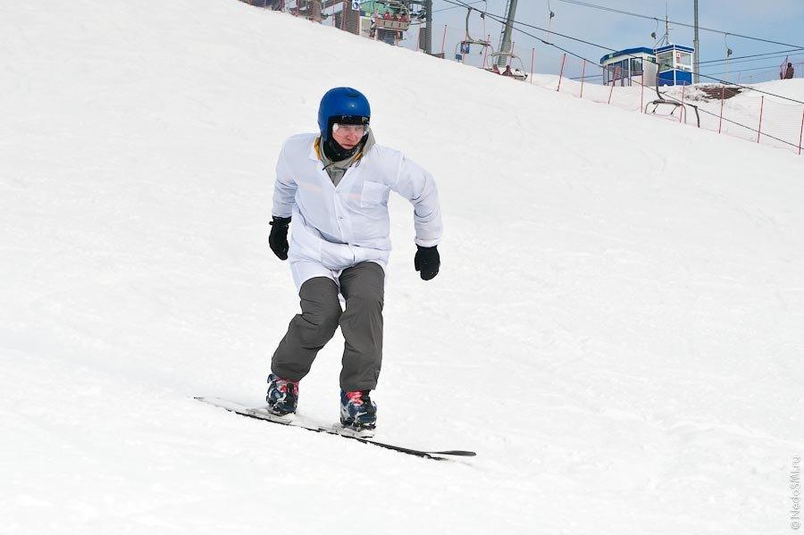 Провожаем зиму: бизнескарвинг или отрыв офисных работников
