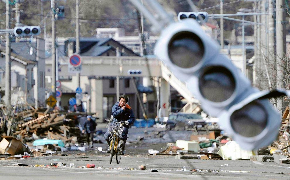 Землетрясение в Японии: на следующий день