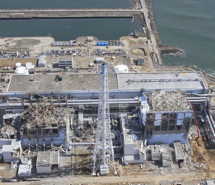 Снимки высокого разрешения АЭС «Фукусима-1». Вид с воздуха