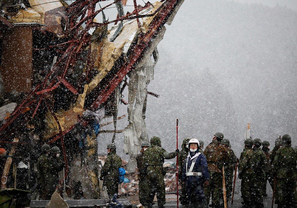 Землетрясения в Японии: борьба с последствиями