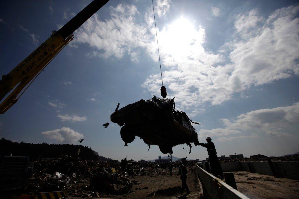 Землетрясение в Японии: месяц спустя