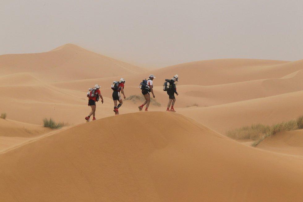 26-й песчаный марафон Des Sables в пустыне Сахара