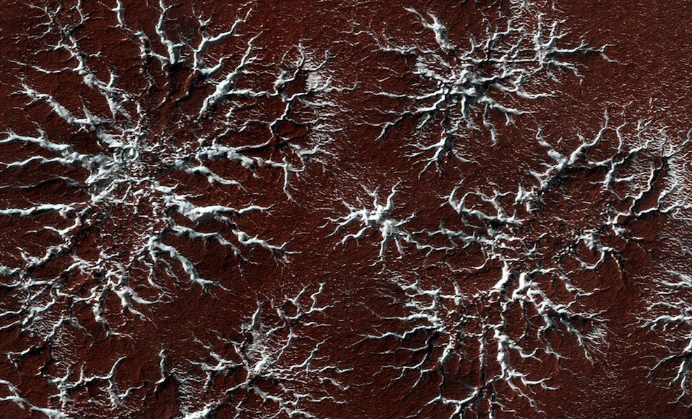 Марс: пустынная планета и захватывающие пейзажи
