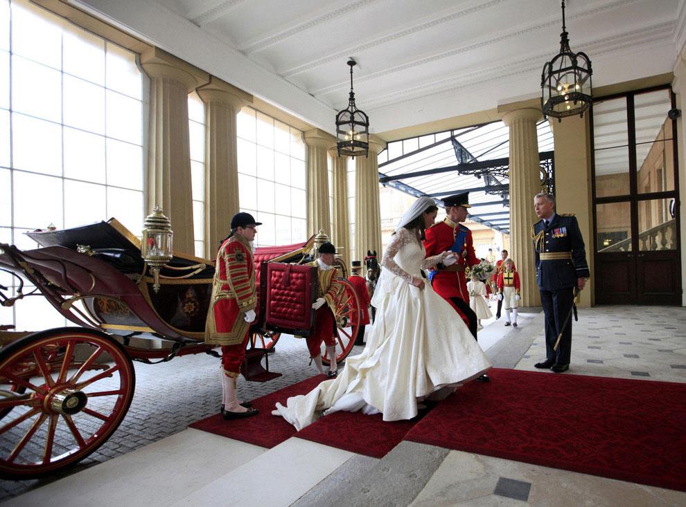 Королевская свадьба принца Уильяма и Кейт Миддлтон