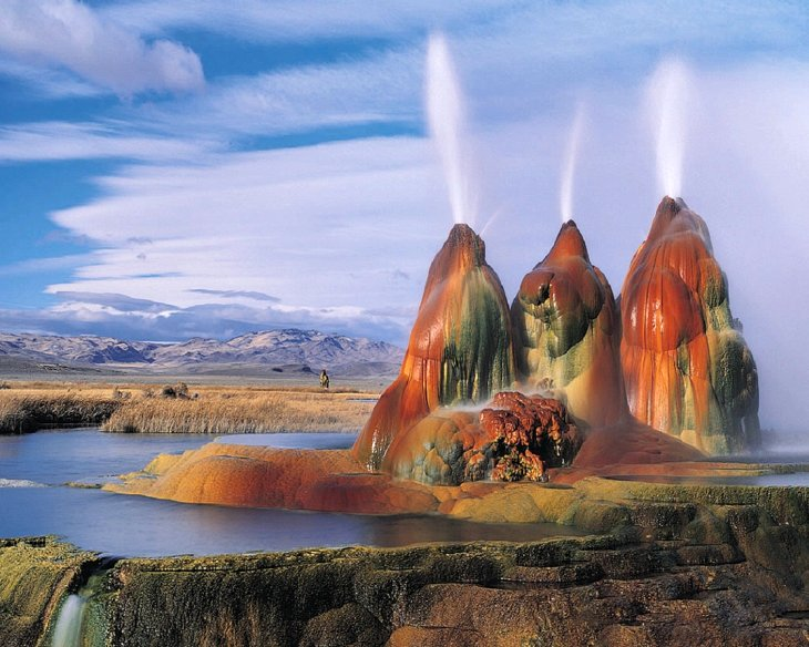 Пустыня Блэк Рок в штате Невада