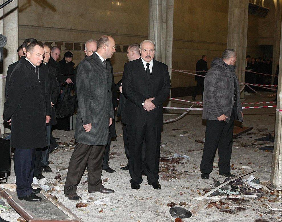 Теракт в минском метро