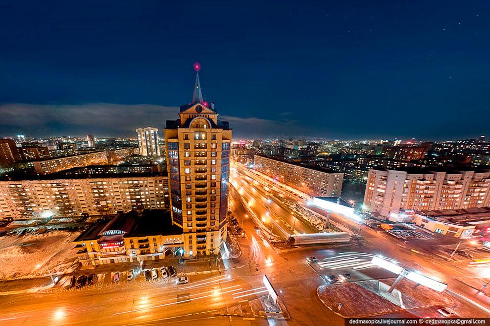 Фото вид на город