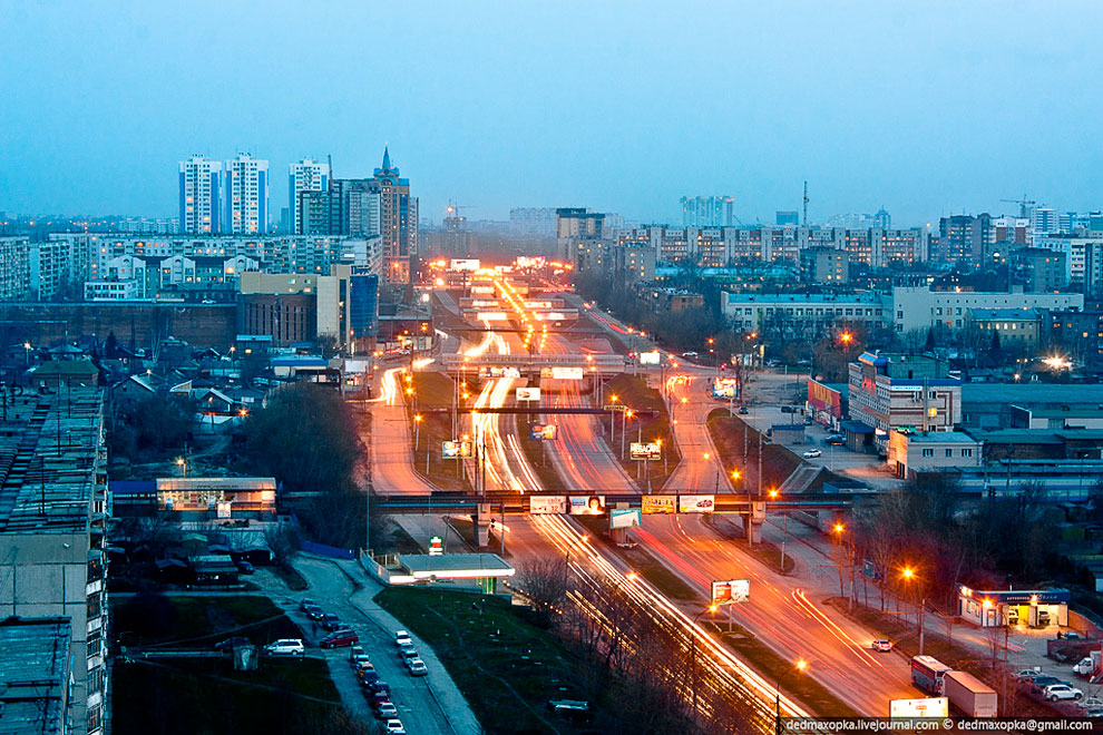 Новосибирск с высоты