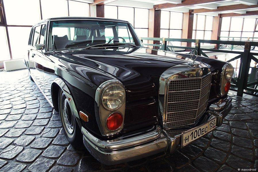 Mercedes-Benz S-klasse (W100)