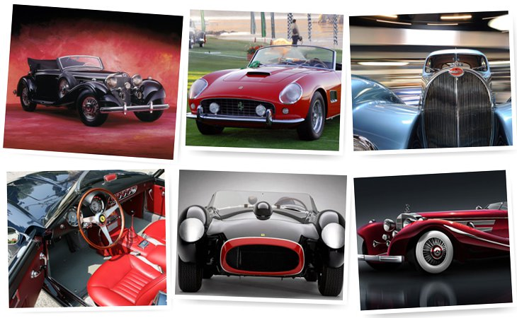 Самые дорогие в мире антикварные автомобили