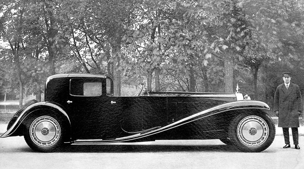 Bugatti Type 41 Royale Kellner Coupe