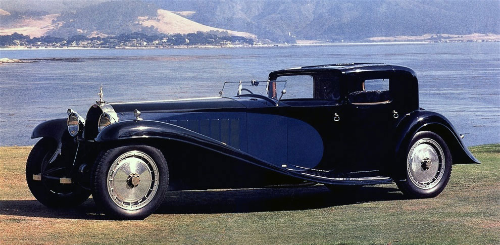 Bugatti Type 41 Royale Kellner Coupe